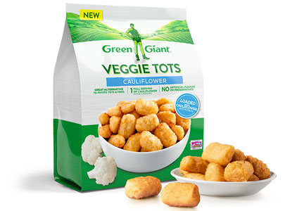 Green Giant vegetable tots, B&G Foods