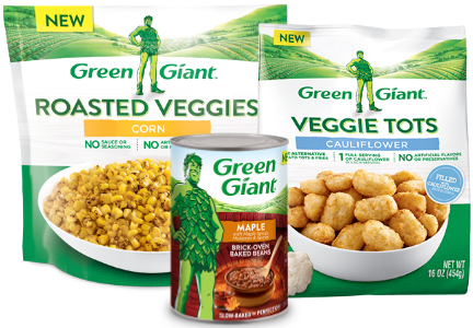 B&G Foods Green Giant vegetables