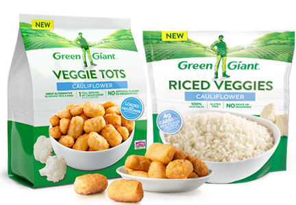 B&G Foods Green Giant new products