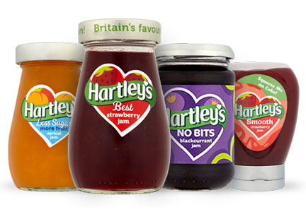 Hartley's jams, Hain Celestial