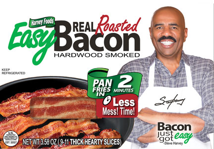 Steve Harvey Easy Bacon