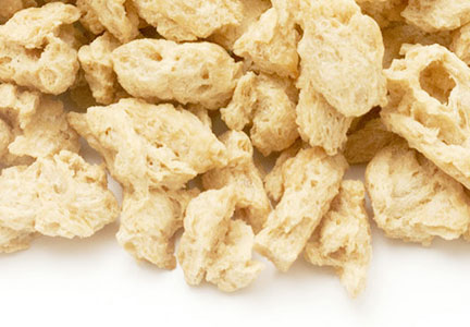 Textured soy protein from Harvest Innovations