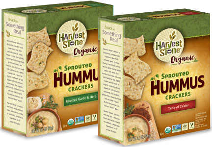 Harvest Stone Sprouted Hummus crackers