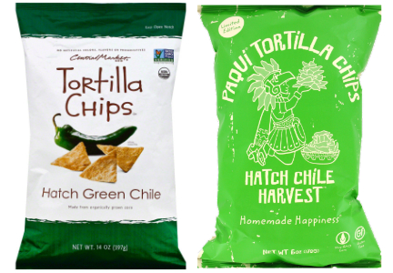 Hatch chile tortilla chips