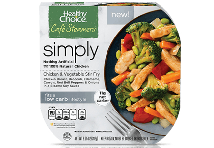 Healthy Choice Cafe Steamers, Conagra Brands