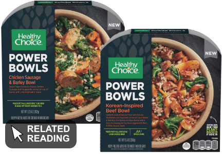 Conagra Brands revamping Healthy Choice with on-trend format, ingredients