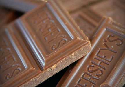 Hershey chocolate bars - Hershey switches to cane sugar from G.M.O. beet sugar