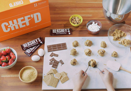 Hershey Chef'd dessert kit