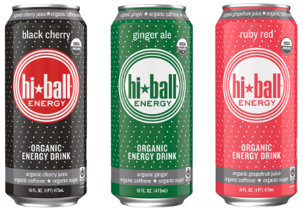 HiBall energy drinks