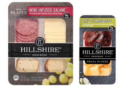 Hillshire Snacking wine-infused, Tyson Foods