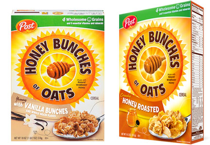 Honey Bunches of Oats cereal, Post Holdings