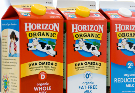 WhiteWave Foods Horizon organic milk, Danone