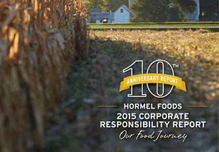 Hormel Foods 2015 Corporate Responsibility Report