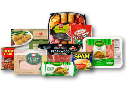 Hormel Foods meat protein products