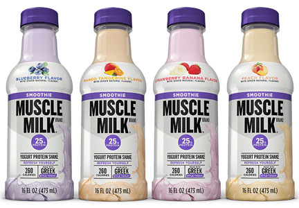 Hormel Muscle Milk smoothies