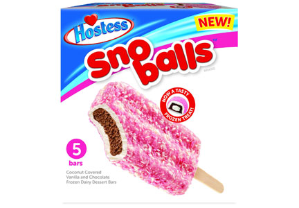 Hostess Sno Ball dessert bars
