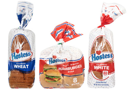 Hostess bread and buns