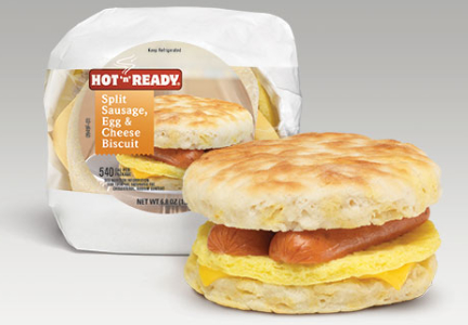 Hot N Ready breakfast sandwich