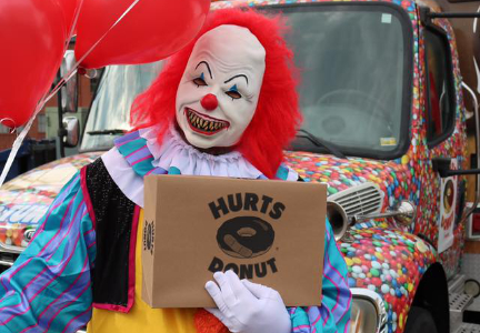 Hurts Donut clown
