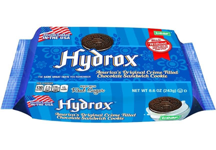 Hydrox cookies, Leaf Brands