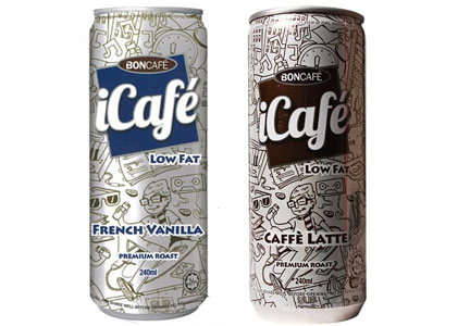 iCafe coffee beverages