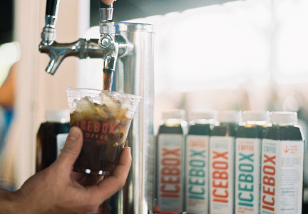 Icebox Coffee cold brew coffee