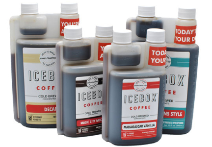 Icebox Coffee cold brew coffee concentrates