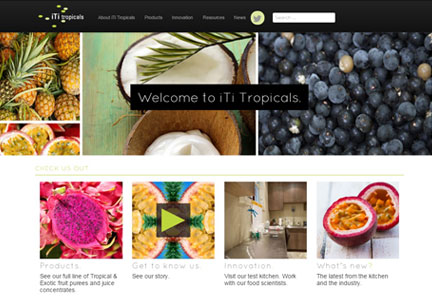 iTi Trpicals new website