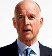 Jerry Brown, California governor