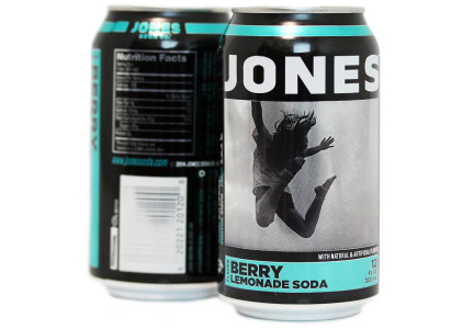 Jones Soda 12-oz cans