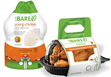 Just Bare chicken products, GNP Co.