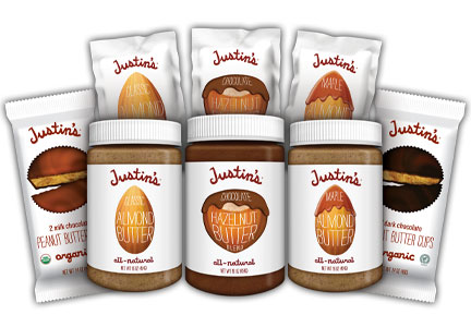 Justin's nut butter products, Hormel