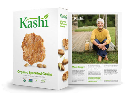 Kashi new packaging, Kellogg