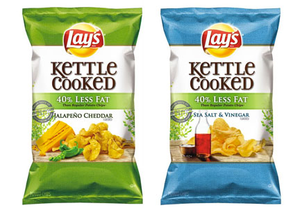 Lay's Kettle-cooked chips,  PepsiCo, Frito-Lay