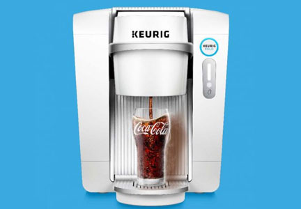 Keurig Kold machine