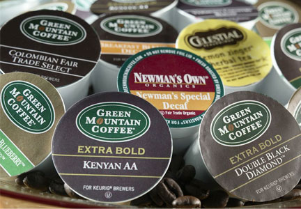 Keurig Green Mountain coffee pods
