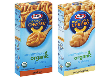 Kraft Heinz organic macaroni and cheese