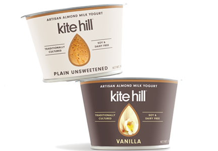 Kite Hill new yogurt flavors: key lime and pineapple