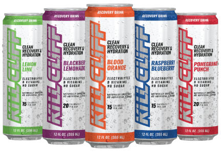 Kill Cliff beverages