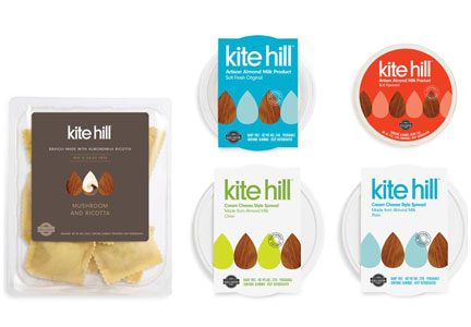 Kite Hill nut cheeses and yogurts, General Mills