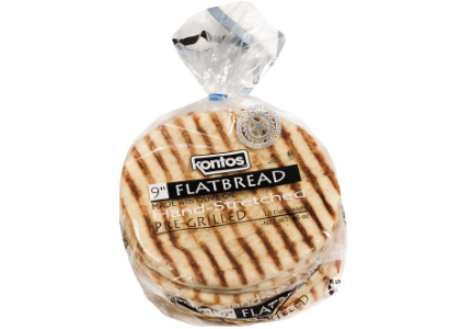 Kontos Foods grilled flatbread