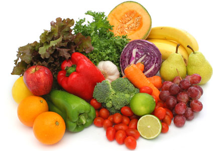 Kosher fruits and vegetables