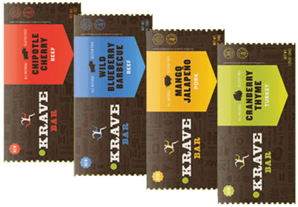 Krave meat bars, Hershey