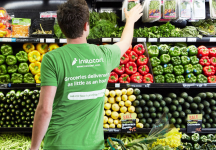 Kroger Instacart grocery delivery partnership