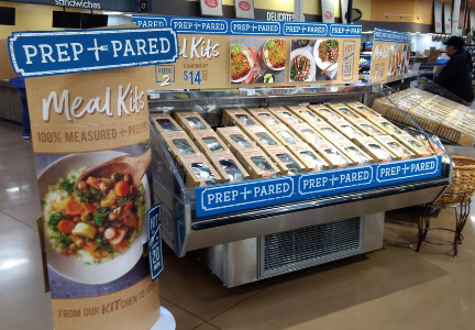 Kroger Prep+Pared meal kits