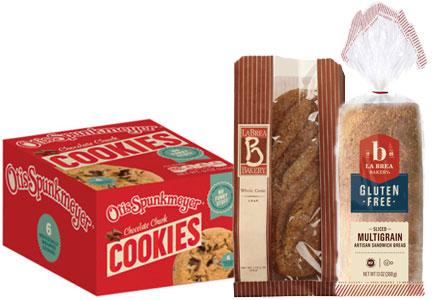 La Brea Bakery and Otis Spunkmeyer products, Aryzta