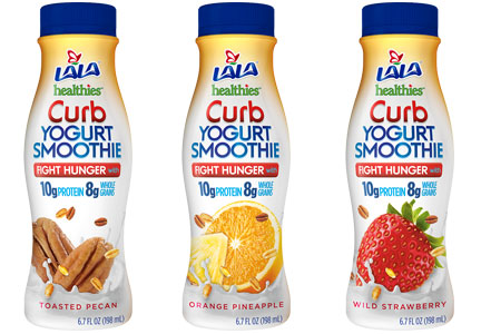 LaLa Curb drinkable yogurt
