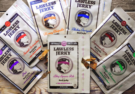 Lawless Jerky seven varieties