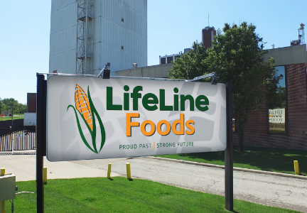 LifeLine Foods sign