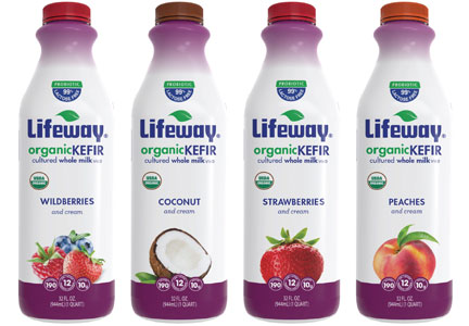 Lifeway drinkable yogurt